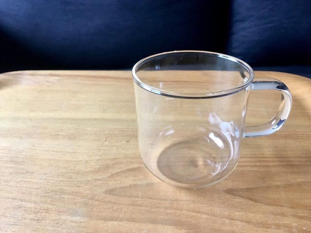 無印良品耐熱マグカップ